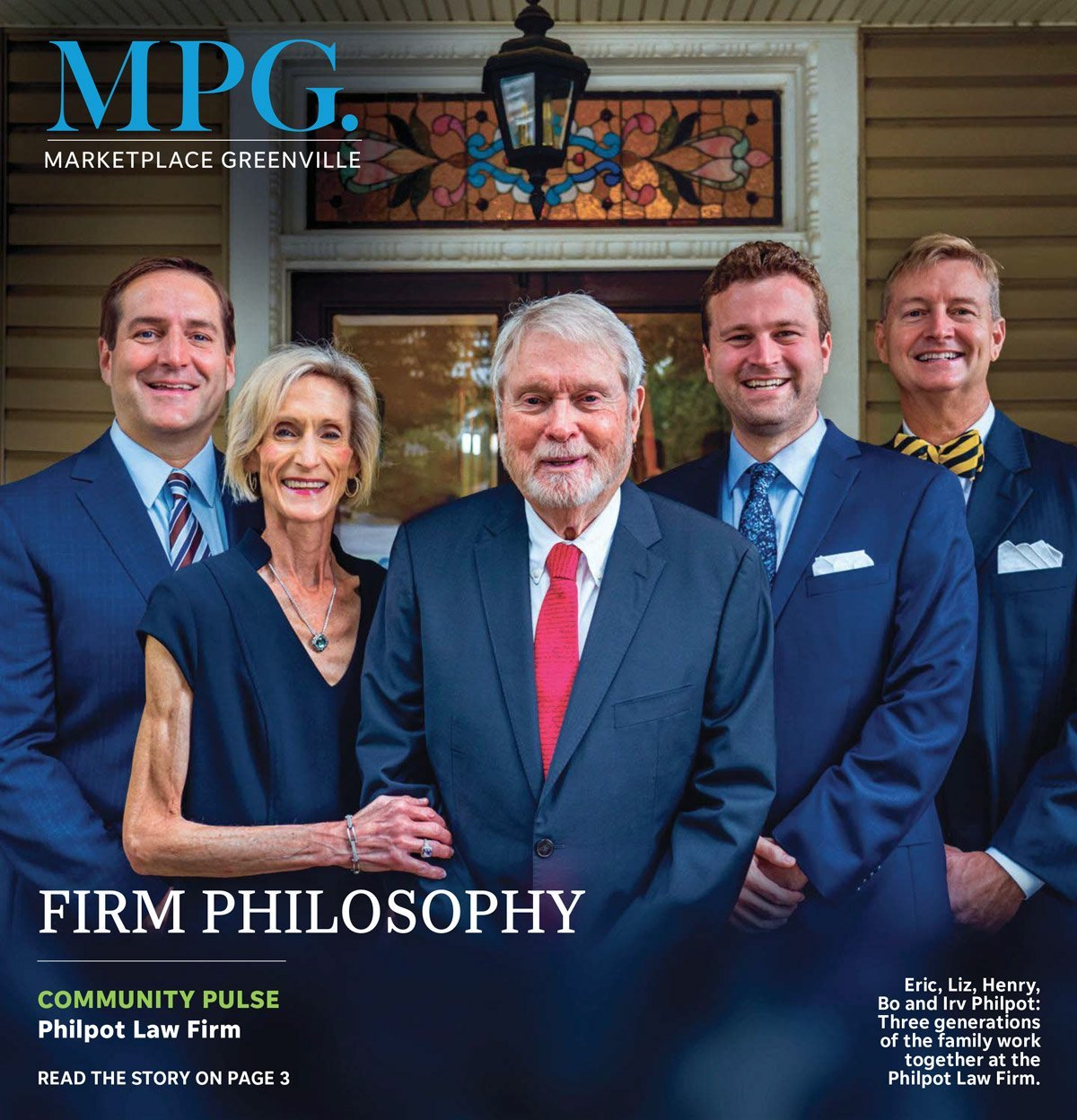 Marketplace Greenville Cover Featuring The Philpots