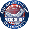 America's Top 100 Attorney's Badge